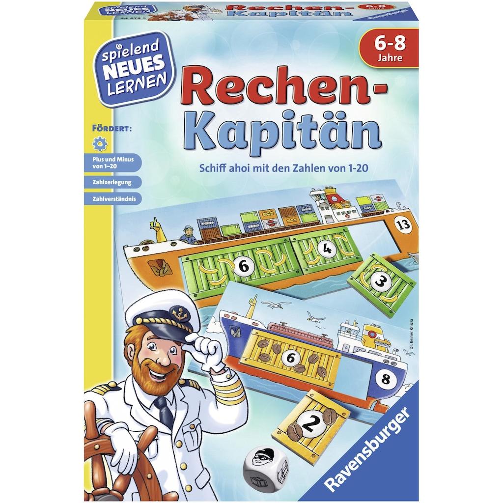 Ravensburger Spiel »Rechen-Kapitän«, Made in Europe, FSC® - schützt Wald - weltweit