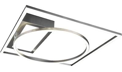 TRIO Leuchten LED Deckenleuchte »Downey, Deckenlampe, Deckenleuchte«, LED-Modul, 1... kaufen