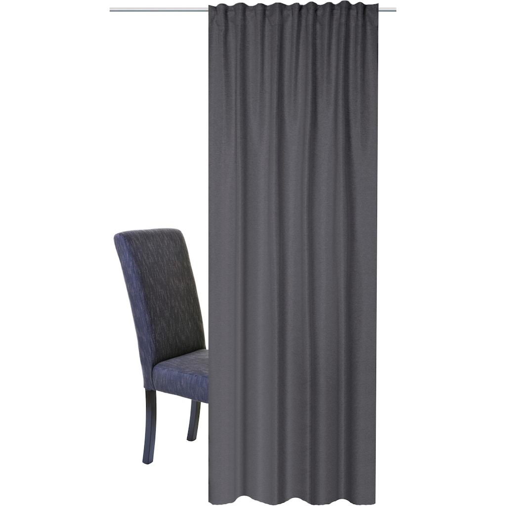 HOME WOHNIDEEN Vorhang »JOHN«, HxB: 245x140, Kombibandschal Verdunklungsstoff