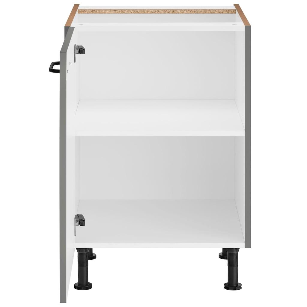 OPTIFIT Unterschrank »Elga«, mit Soft-Close-Funktion, höhenverstellbaren Füßen und Metallgriffen, Breite 60 cm