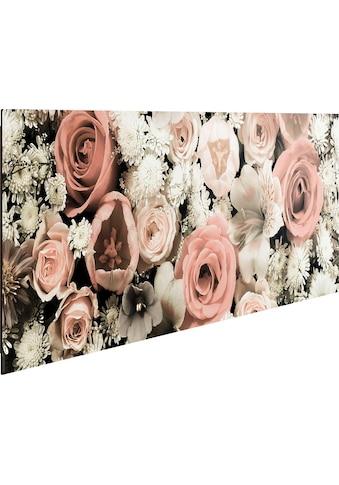 Home affaire Deco-Panel »Blumen Bouquet« kaufen