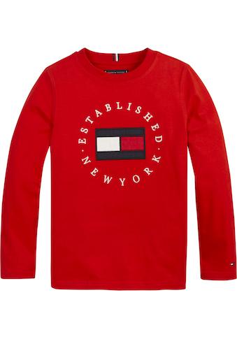 TOMMY HILFIGER Langarmshirt »HERITAGE LOGO TEE L/S« kaufen
