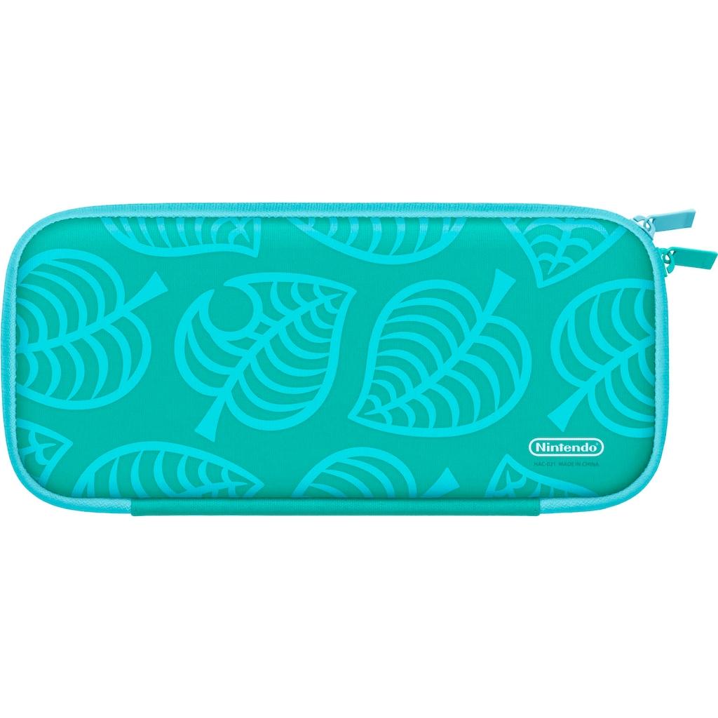 Nintendo Switch Spielekonsolen-Tasche »Animal Crossing Edition + Schutzfolie«
