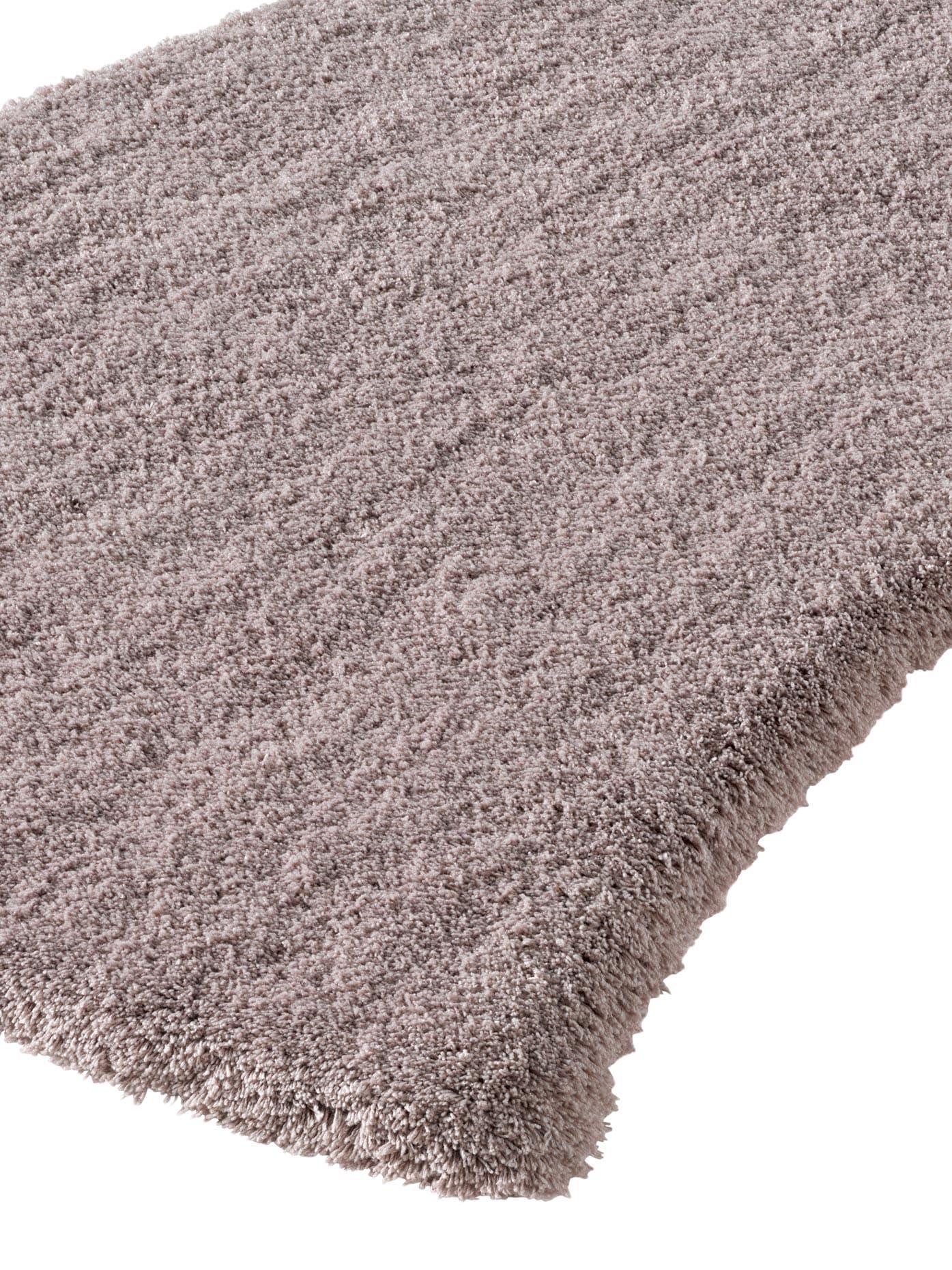 heine home Teppich, rechteckig, 25 mm Höhe braun Teppich Shaggy-Teppiche Hochflor-Teppiche Teppiche