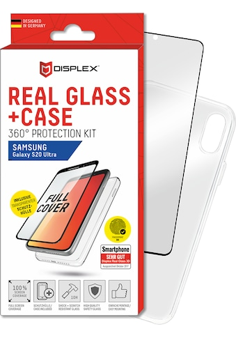 Displex Schutzglas »Real Glass 3D + Case für Samsung Galaxy S20 Ultra« kaufen