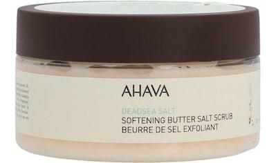 AHAVA Körperbutter »Deadsea Salt Softening Butter Salt Scrub« kaufen