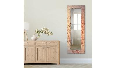 Artland Wandspiegel »Florale Ornamente«, gerahmter Ganzkörperspiegel mit Motivrahmen,... kaufen