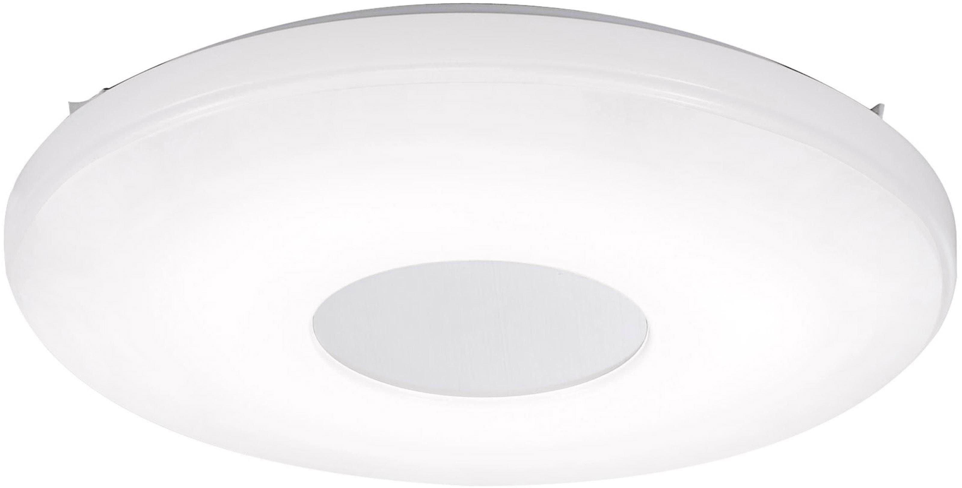 Leuchten Direkt Deckenleuchte LAVINIA, LED-Board, Warmweiß-Neutralweiß-Tageslichtweiß, CCT Farbtemperaturregelung (verstellbar von 2700-5000K) Dimmbar über Fernbedienung Memory nach Trennung vom Netz, Ø 44 cm
