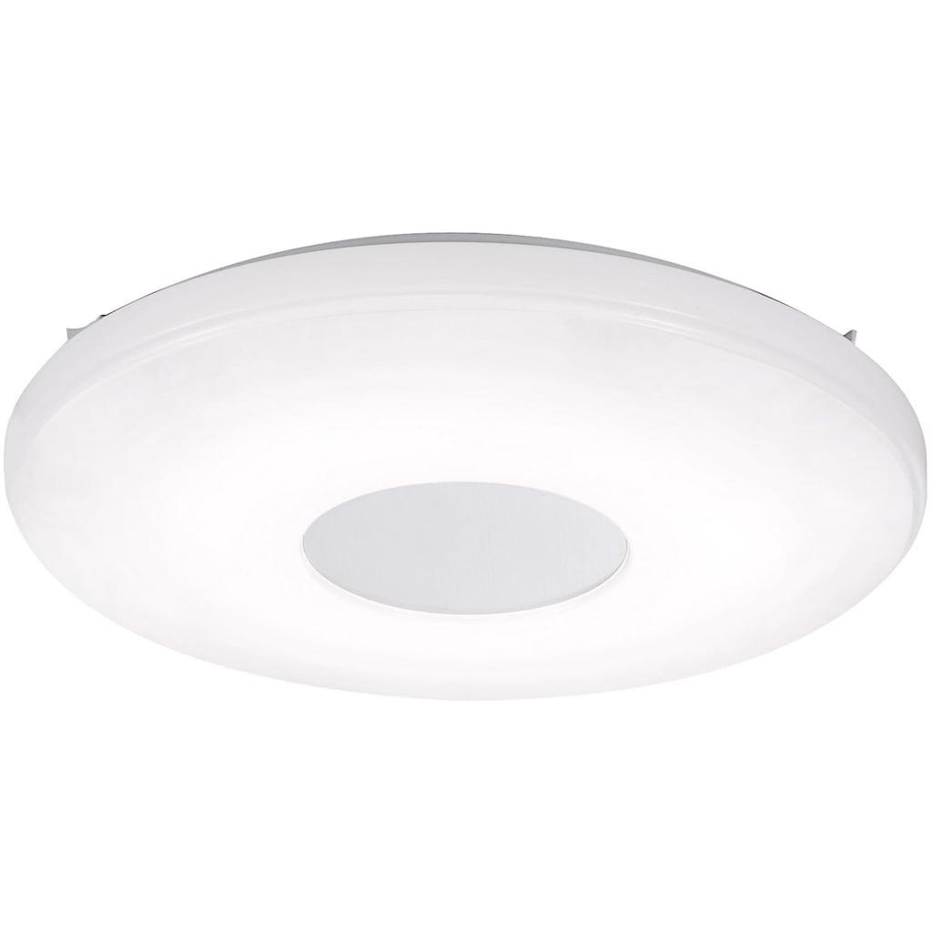 Leuchten Direkt Deckenleuchte »LAVINIA«, LED-Board, Warmweiß-Neutralweiß-Tageslichtweiß, CCT -Farbtemperaturregelung (verstellbar von 2700-5000K)|Dimmbar über Fernbedienung|Memoryfunktion, Ø 34 cm