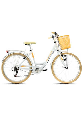 KS Cycling Cityrad »Cantaloupe«, 6 Gang, Shimano, Tourney Schaltwerk, Kettenschaltung kaufen