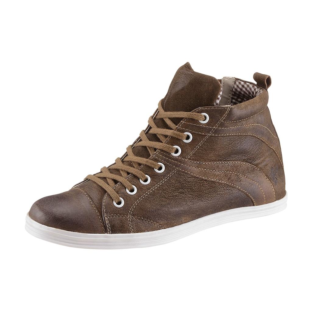 Spieth & Wensky Sneaker, mit zwei Schnürbändern