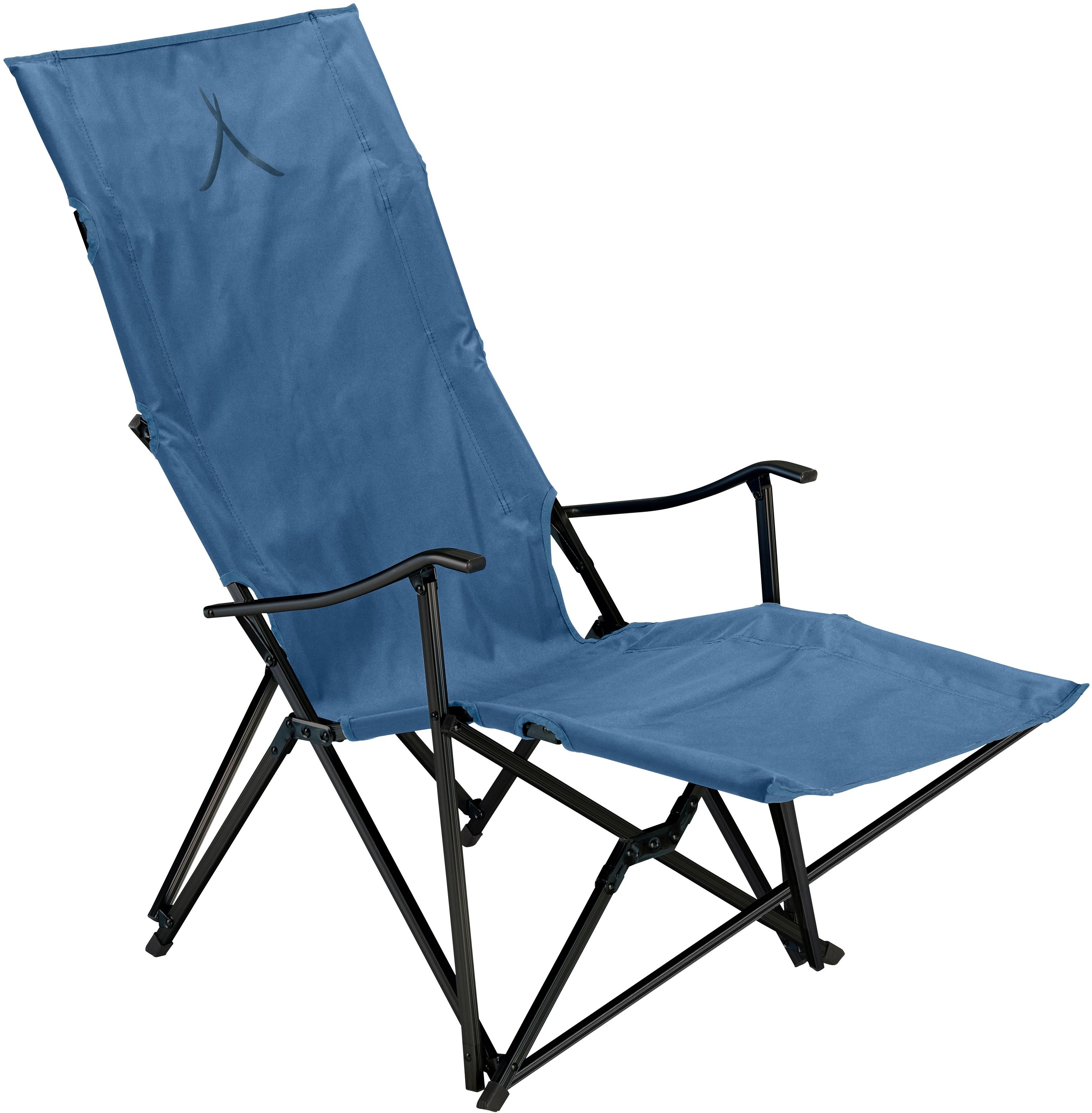 GRAND CANYON Campingstuhl EL TOVAR LOUNGER blau Campingmöbel Camping Schlafen Outdoor