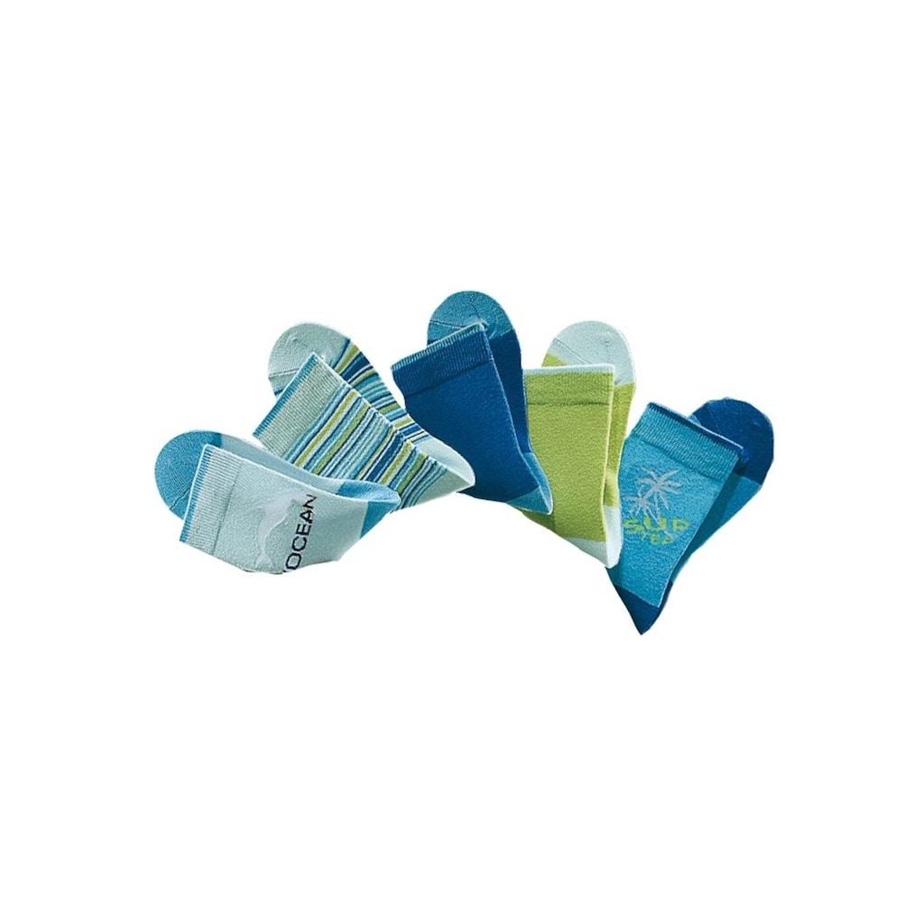 H.I.S Socken, (5 Paar), mit verstärkter Ferse & Spitze