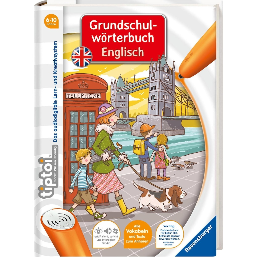 Ravensburger Buch »tiptoi® Grundschulwörterbuch Englisch«, ; Made in Germany