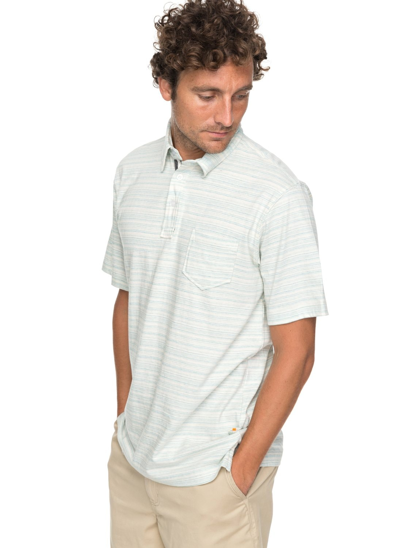 Quiksilver Poloshirt »Sand Dollar«   Bekleidung > Polo Shirts > Kurzarm   Blau   Baumwolle   QUIKSILVER