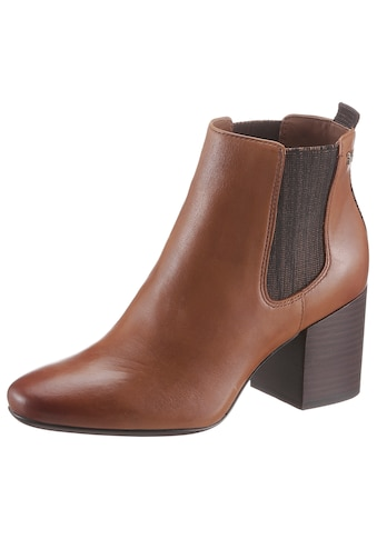 TOMMY HILFIGER Chelseaboots »ESSENTIAL LEATHER MID HEEL BOOT« kaufen