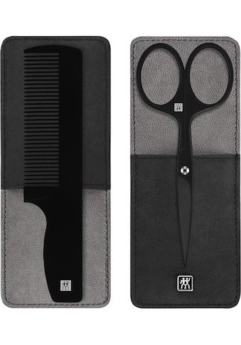 Zwilling Bartschere »TWINOX® M«, (Set, 2 tlg.), inkl. Kamm kaufen