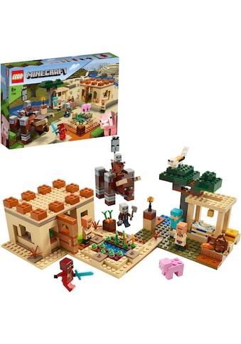 """LEGO® Konstruktionsspielsteine """"Der Illager - Überfall (21160), LEGO® Minecraft™"""", Kunststoff, (562 - tlg.) kaufen"""