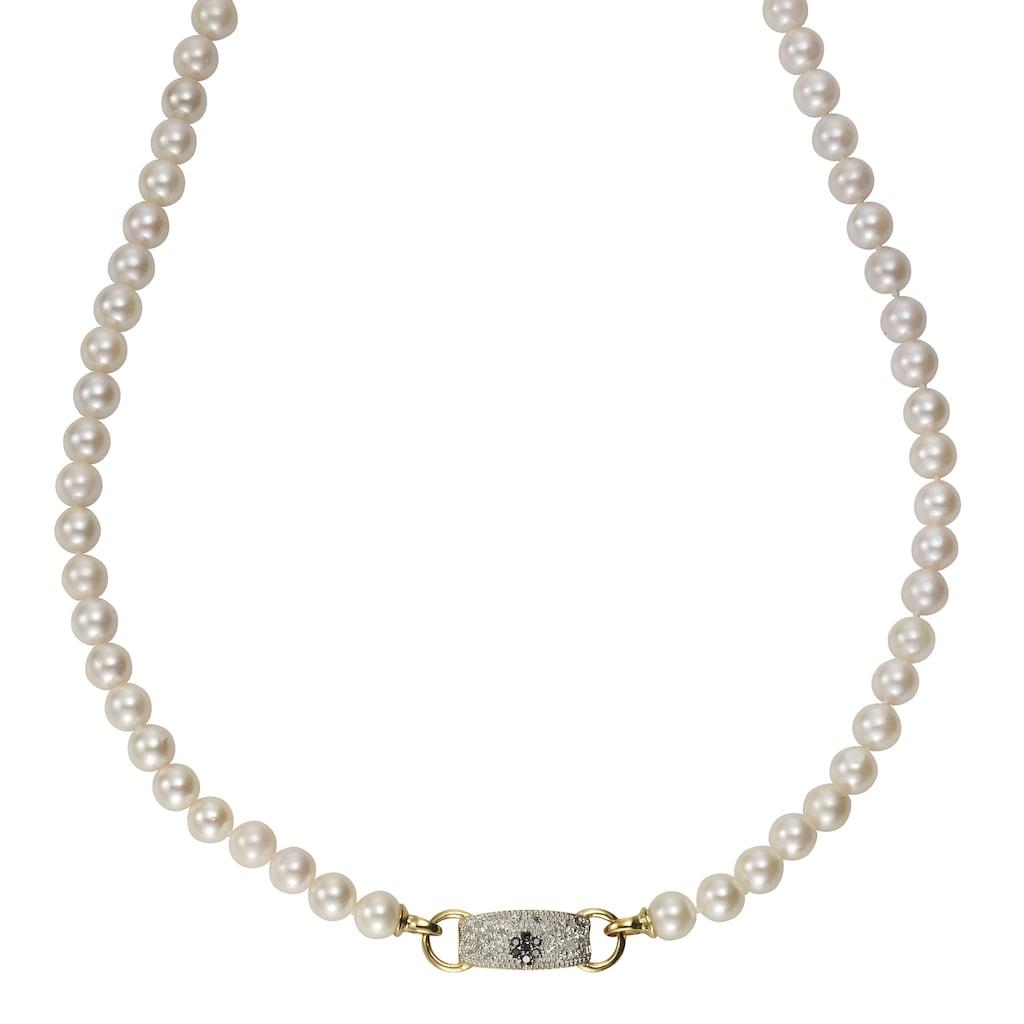 Diamonds by Ellen K. Collier 585/- Gelbgold Perlen