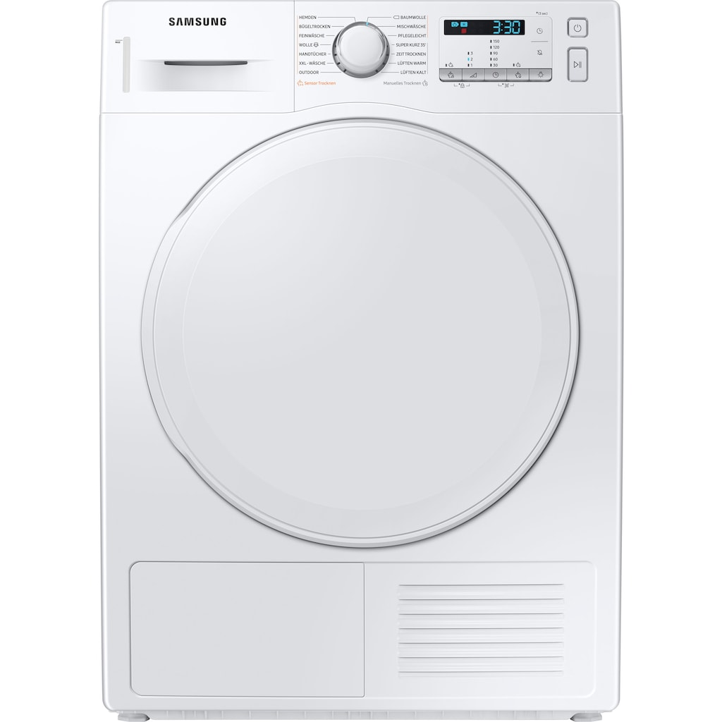 Samsung Wärmepumpentrockner »DV9FTA040DW/EG«