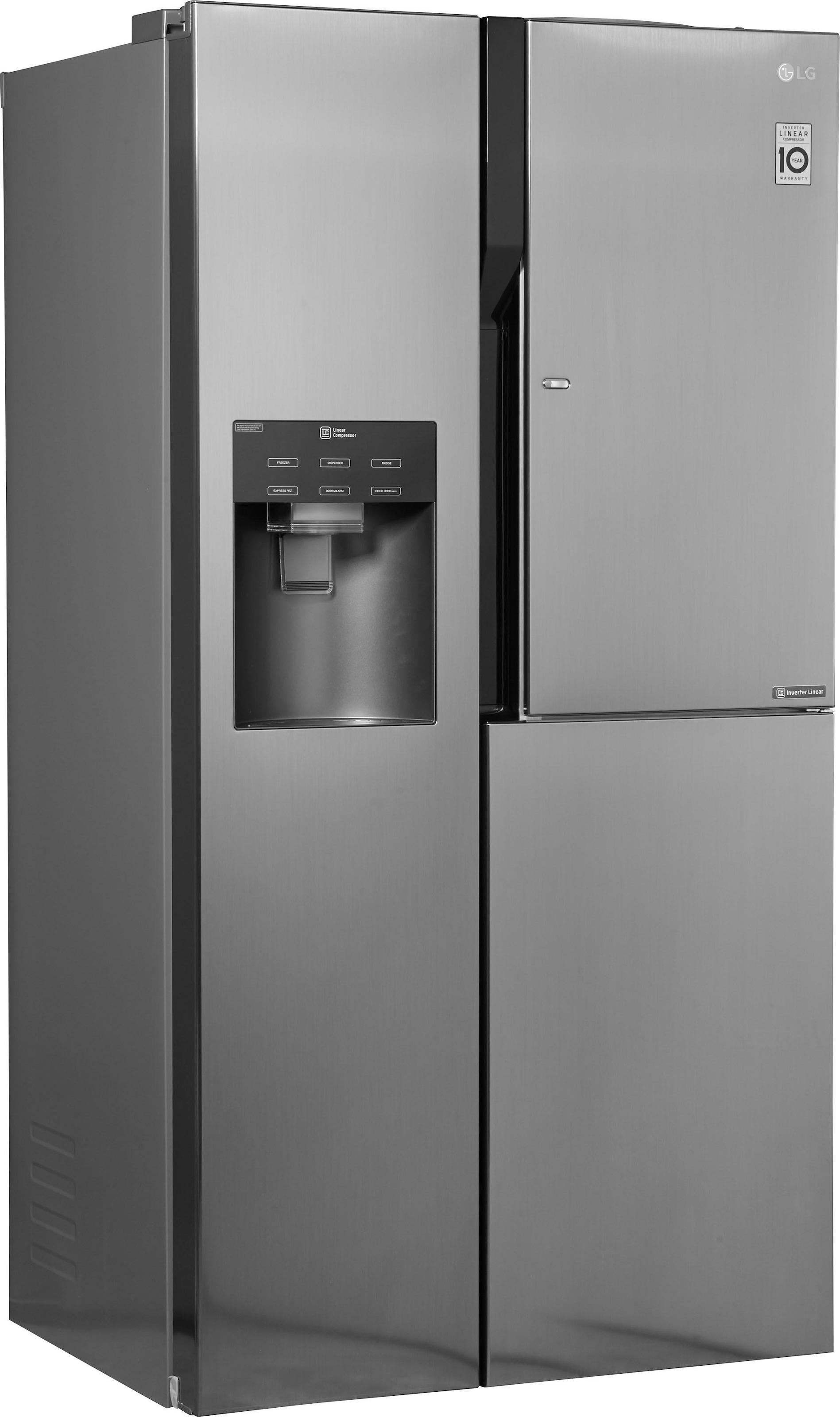 Kühlschrank Und Gefrierschrank Side By Side : Side by side kühlschrank auf rechnung raten kaufen