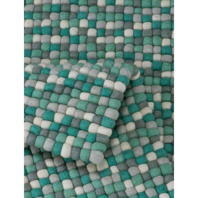 Wollteppich, »Maja«, Home affaire, rechteckig, Höhe 22 mm, handgewebt