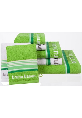 Bruno Banani Handtuch Set »Maja«, mit farbiger Bordüre kaufen