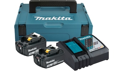 MAKITA Akku - Set »Power Source Kit«, 2 Akkus (18 V, 3 Ah) und Ladegerät kaufen