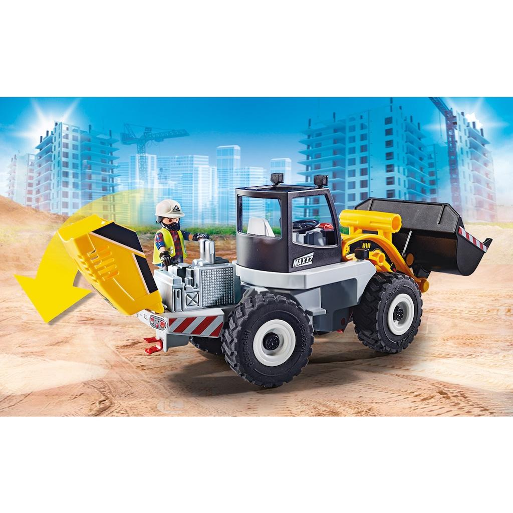 Playmobil® Konstruktions-Spielset »Radlader (70445), City Action«, Made in Europe