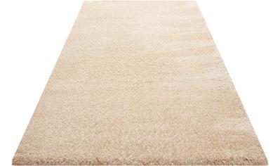 Wecon home Basics Hochflor-Teppich »Smilla«, rechteckig, 50 mm Höhe, Wohnzimmer kaufen