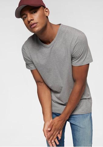Jack & Jones T - Shirt »SLIM -  FIT BASIC TEE V - NECK« kaufen