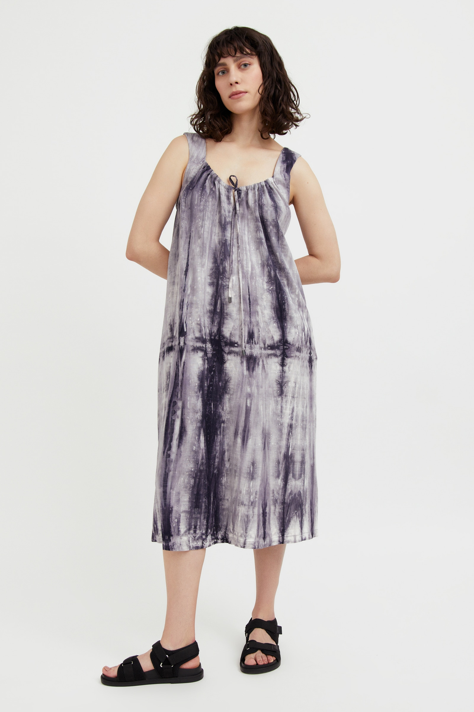 finn flare -  Jerseykleid, im auffälligen Batik-Look