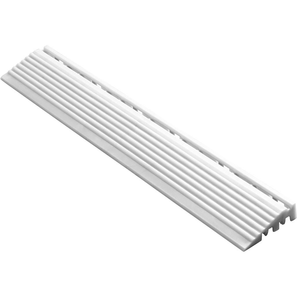 florco® Klickfliesen-Kantenleiste, Seitenteil weiß, 40 cm