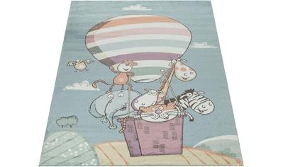 Kinderteppich, »Capri 310«, Paco Home, rechteckig, Höhe 14 mm, maschinell gewebt kaufen