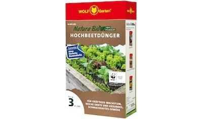 WOLF-Garten Pflanzendünger »N-HB 0,85 NATURA BIO«, Hochbeetdünger, 0,85 kg kaufen