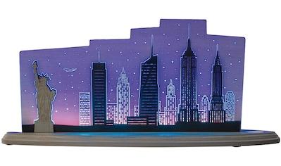 Weigla LED Dekolicht »New York New York«, 1 St., Neutralweiß, beidseitiges Motiv/... kaufen