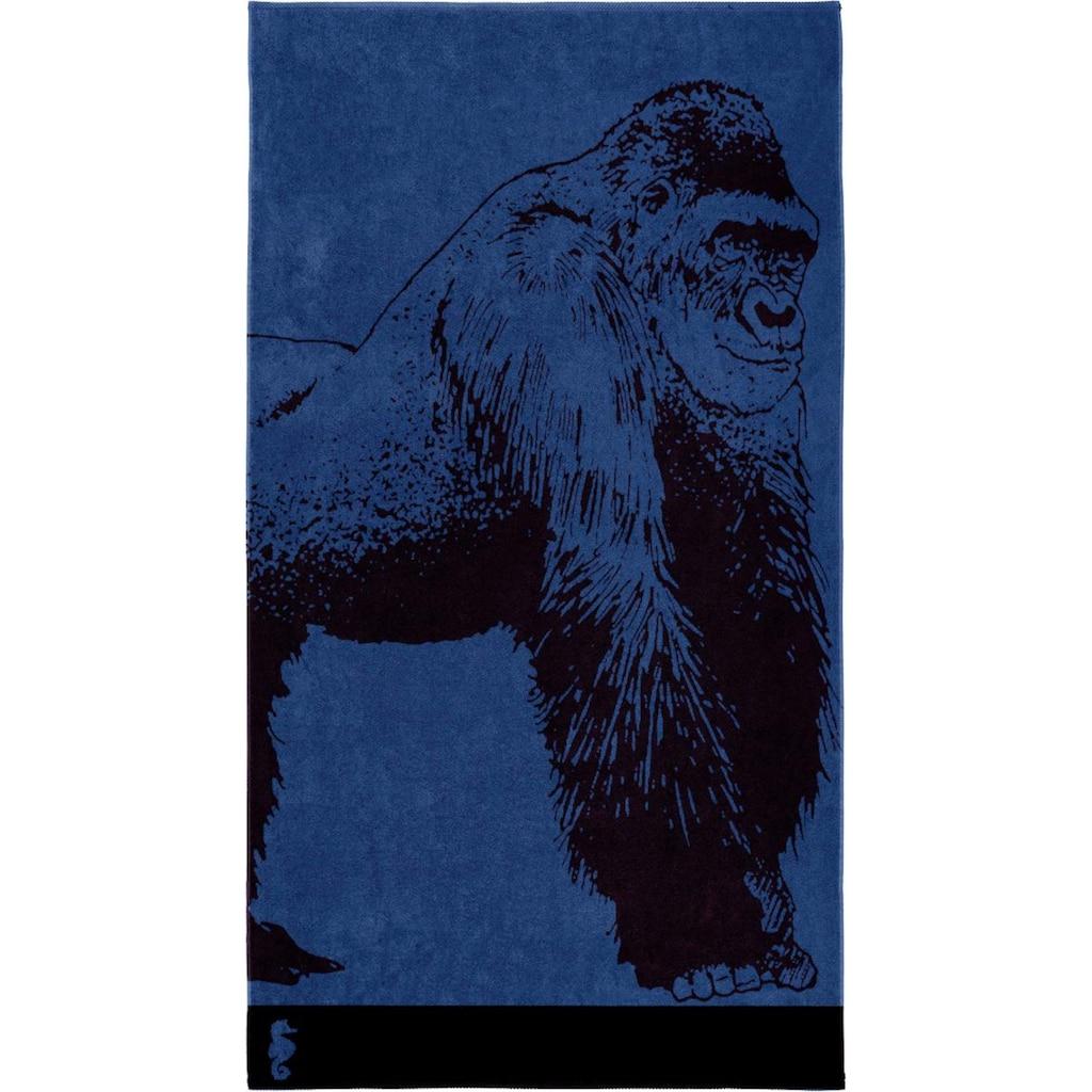 Seahorse Strandtuch »Bokito«, (1 St.), mit einem Gorilla