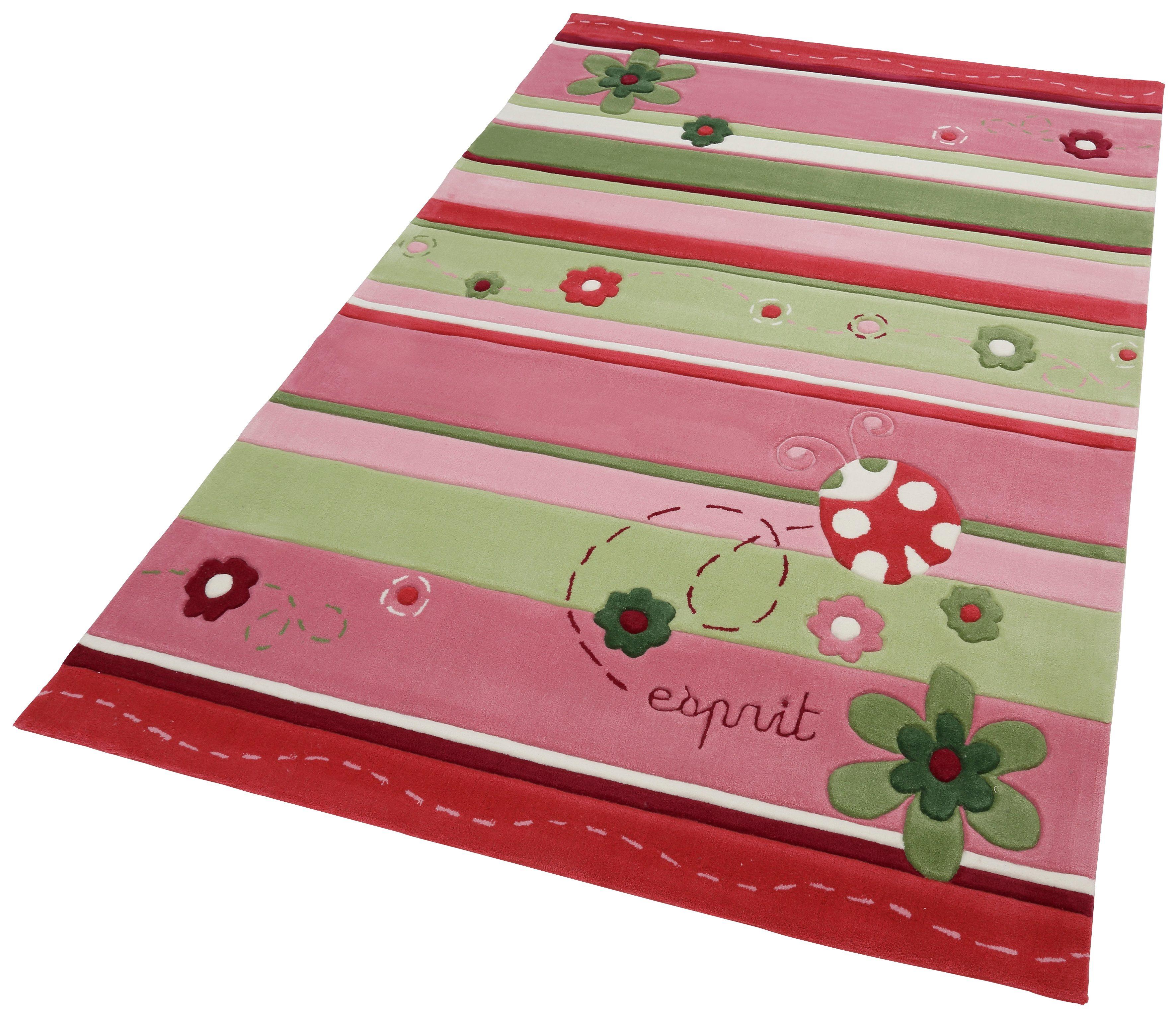 Kinderteppich Ladybird Esprit rechteckig Höhe 10 mm handgetuftet