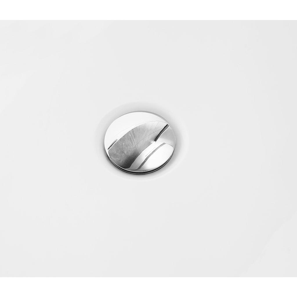 welltime Badewanne »Spring«, B/T: 168/85 cm, freistehende Wanne