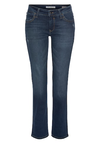 Mavi Straight-Jeans »OLIVIA-MA«, hochwertige Denimqualität mit Stretch kaufen