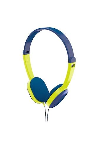Hama Kinderkopfhörer Kids, Blau/Grün »On Ear, Stereo, 3,5 mm Klinke« kaufen