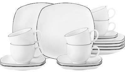 """Seltmann Weiden Kaffeeservice """"Lido"""" (18 - tlg.), Porzellan kaufen"""