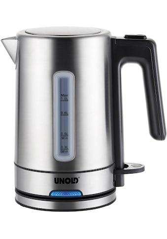 Unold Wasserkocher, Blitzkocher One 18020, 1 Liter, 2200 Watt kaufen