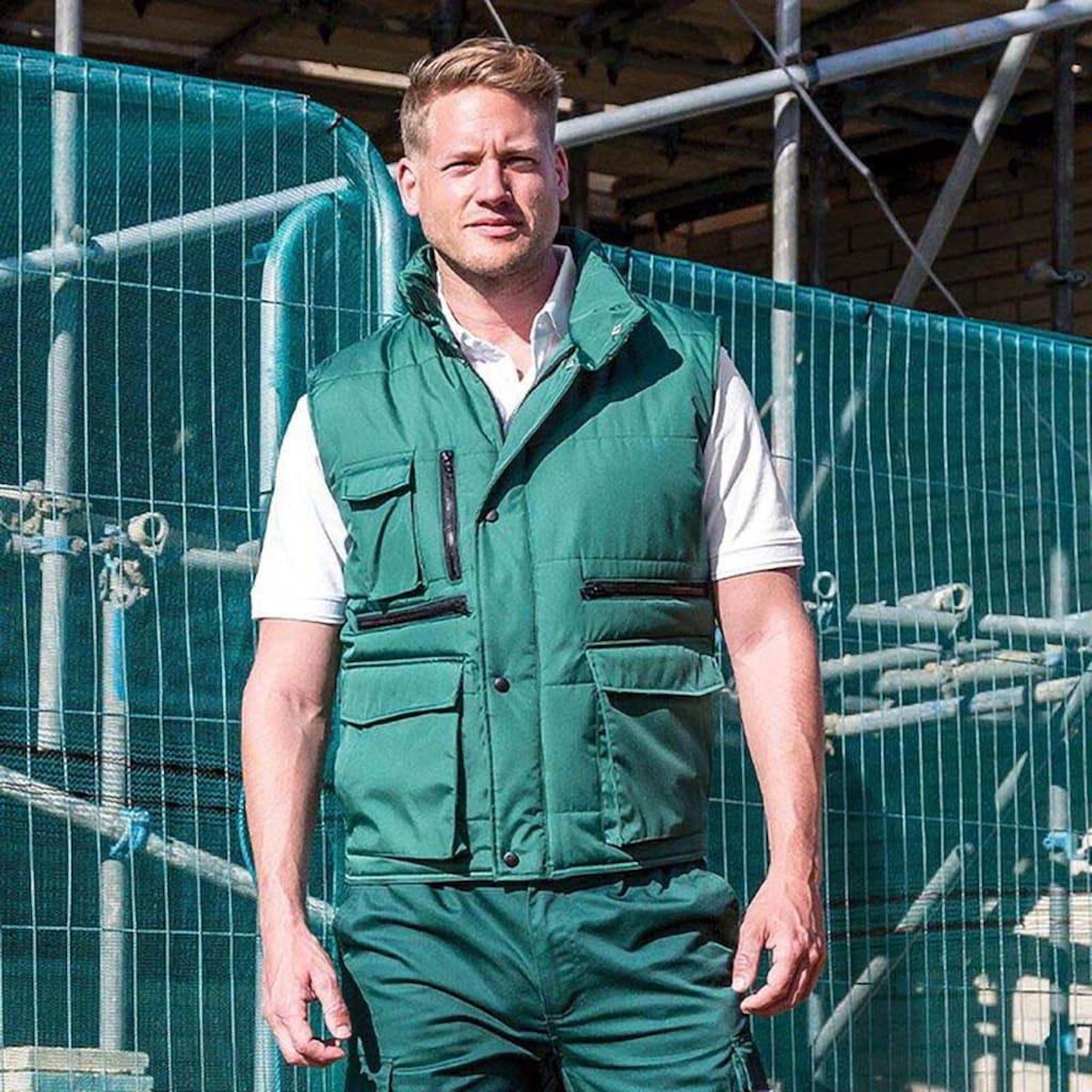 Result Steppweste »Herren Lance Bodywarmer / Weste mit zahlreichen Taschen, winddicht, wasserabweisend«