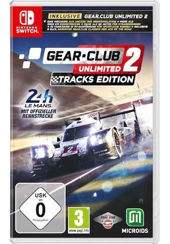 Astragon Spiel »Gear Club Unlimited 2: Tracks Edition«, Nintendo Switch kaufen