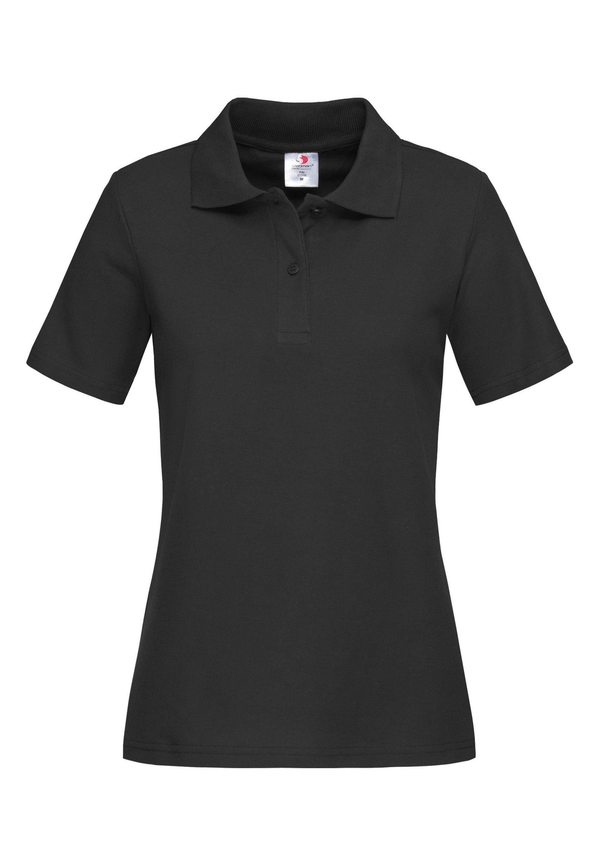 stedman -  Poloshirt im Piqué-Look