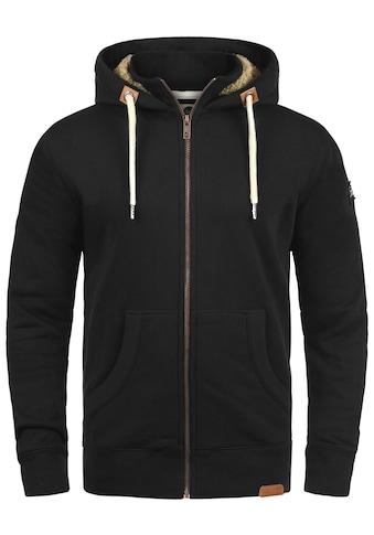 Solid Kapuzensweatjacke »Trip-Zip Pile«, Sweatshirtjacke mit Teddyfutter in der Kapuze kaufen