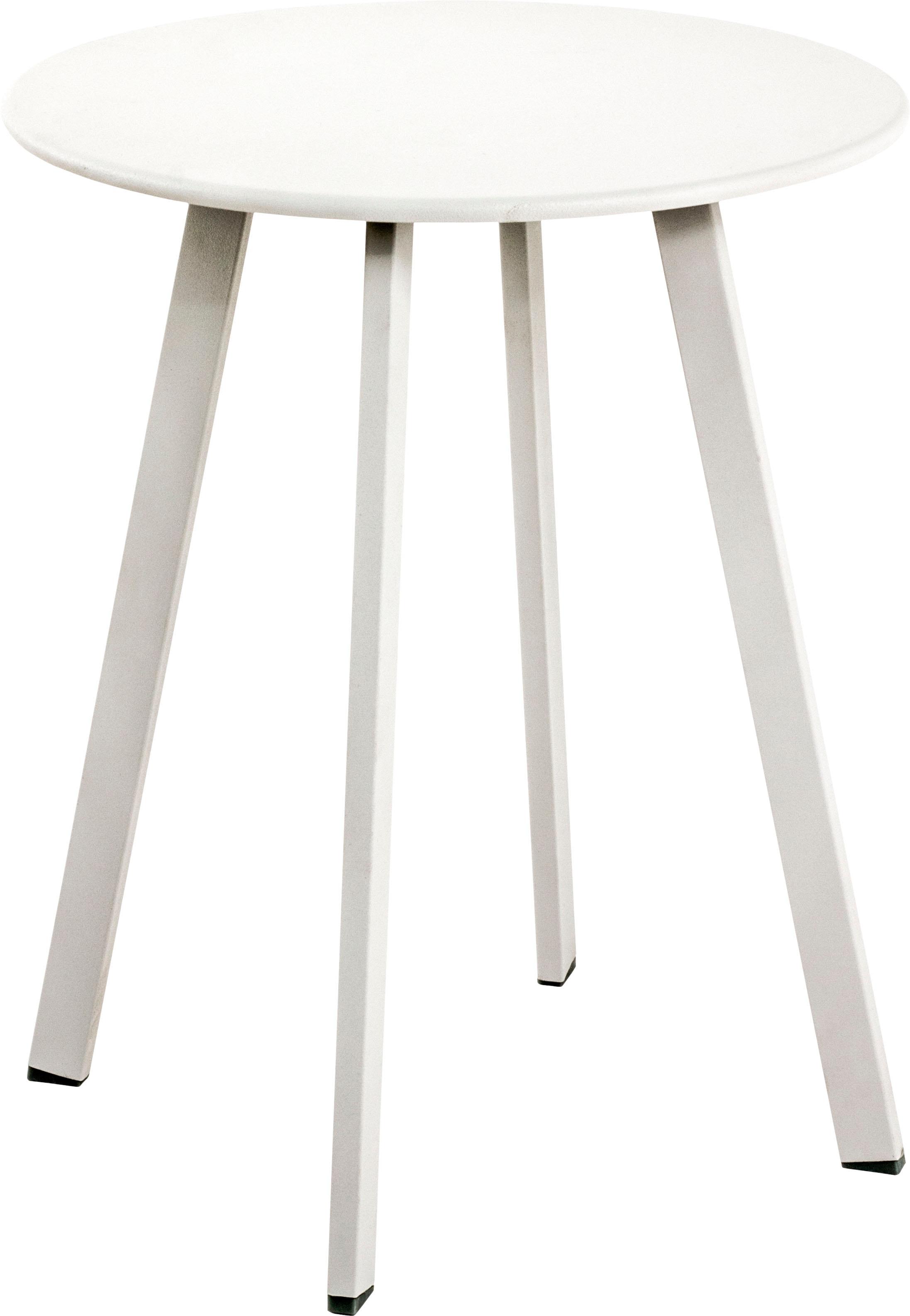 HAKU Beistelltisch weiß Beistelltische Tische