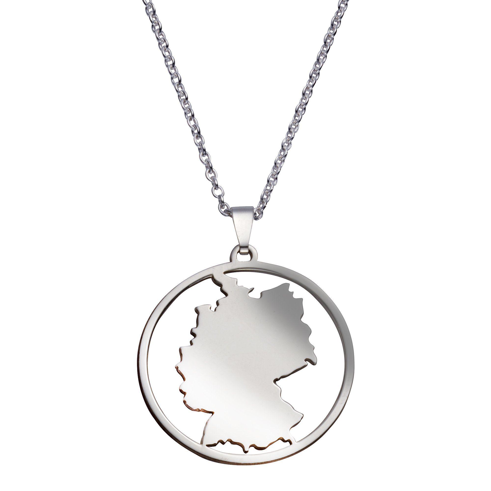Vivance Anhänger/Kette 925/- Sterling Silber Deutschland | Schmuck > Halsketten > Silberketten | Vivance