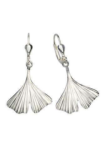Vivance Paar Ohrhänger »925/- Sterling Silber Ginkgo«, mit Geschenketui kaufen
